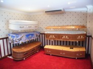 Our coffin display room in our Cullompton offices